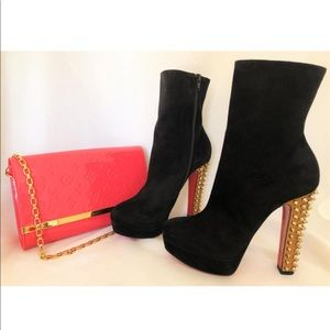 Christian Louboutin Spiked Boots